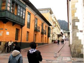 La Candelaria, town in the center of Bogotá