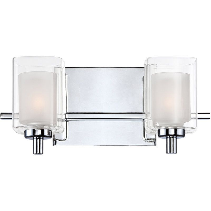 View The Quoizel KLT Kolt Light Wide Reversible Halogen - Halogen bathroom vanity lights