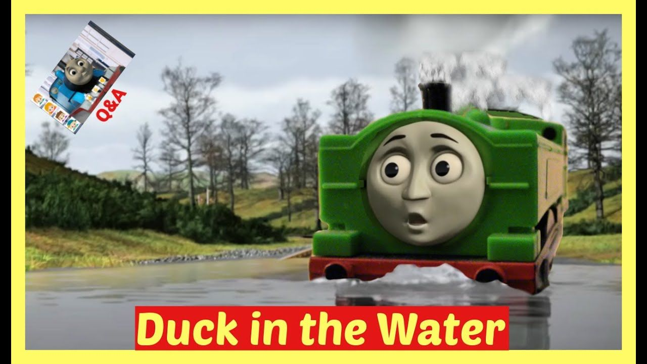 Thomas And Friends Duck In The Water Thomas And Friends Trackmaster Duck Thomas And Friends Thomas Toy Trains Videos