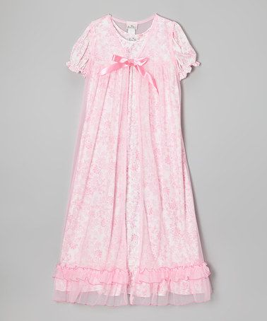 Another Great Find On Zulily Pink Floral Ruffle Layered
