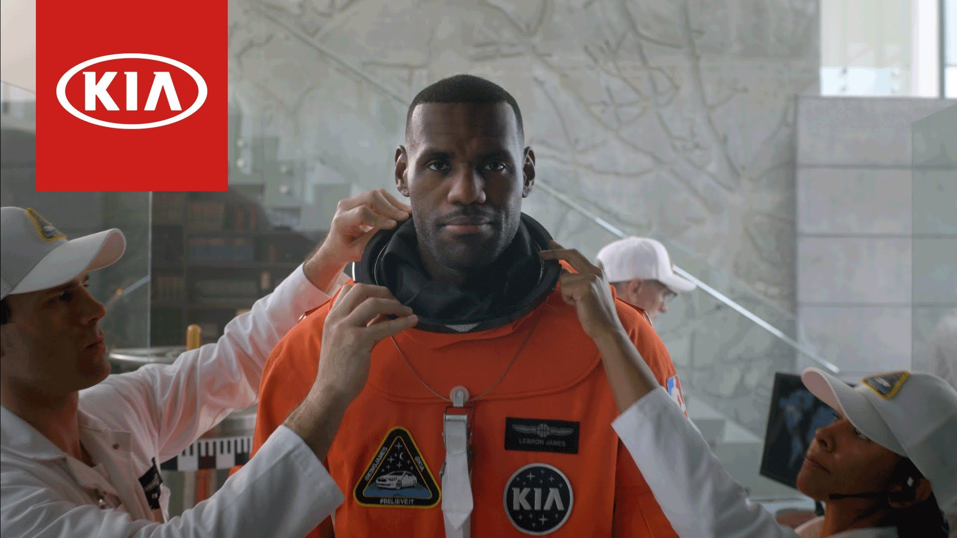 Kia K900 LeBron James Commercial Spaceship Official