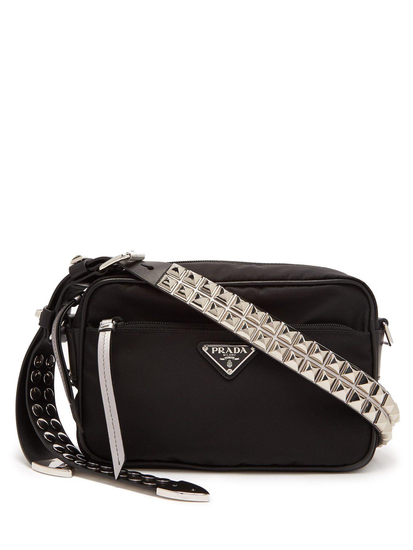 4dff25b9b76878 New Vela nylon cross-body bag | Prada | MATCHESFASHION.COM | 99 ...