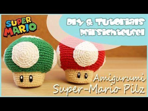 Super Mario Pilz Häkeln Diy By Pfirsichteufel Amigurumi Super