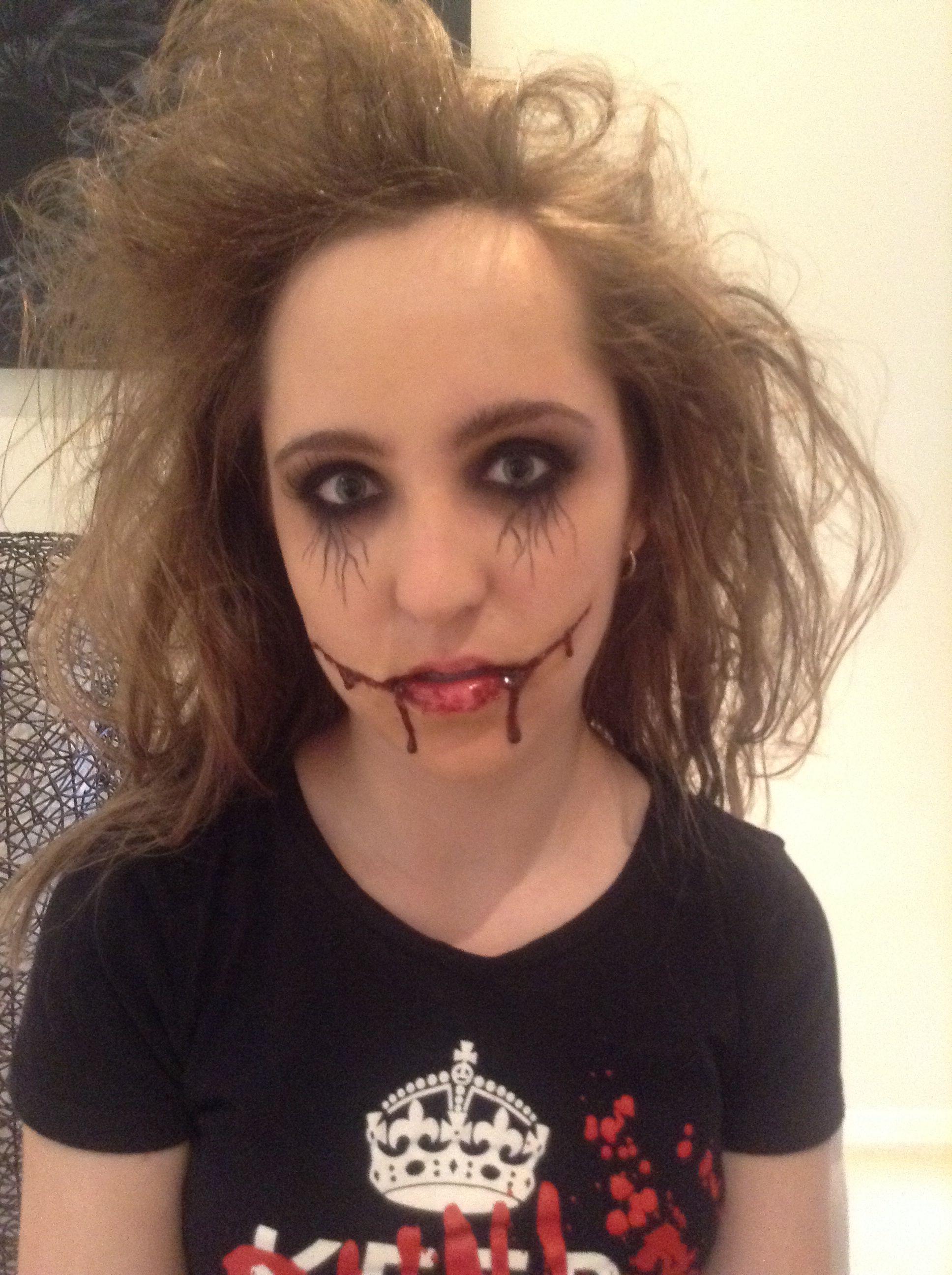 My Halloween costume. Go to sleep? Halloween face