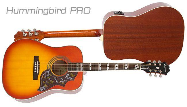 Epiphone Hummingbird Pro Epiphone Guitar Epiphone Acoustic Guitar