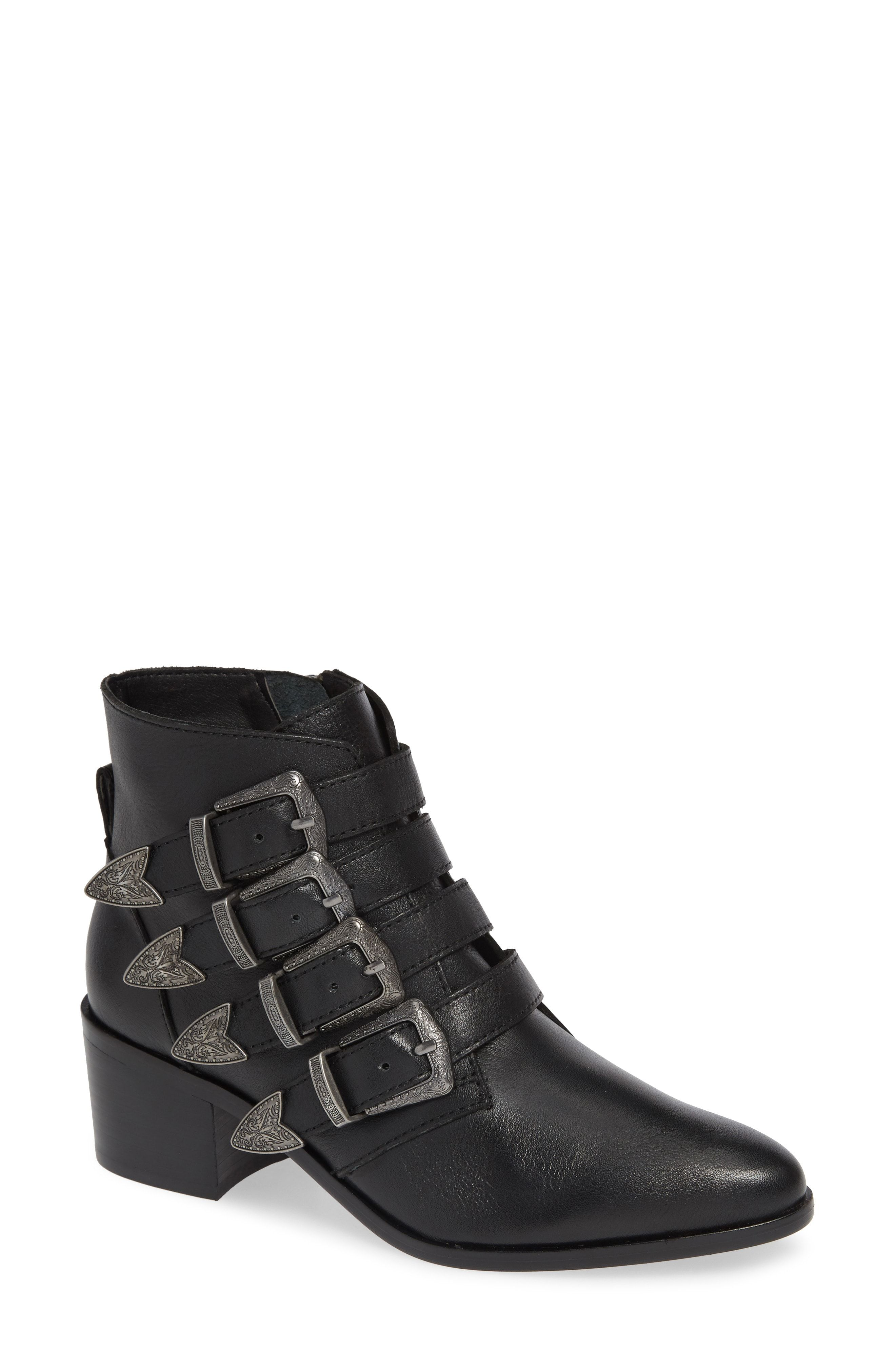 0a6e603b7ad Steve Madden Billey Buckle Bootie (Women)