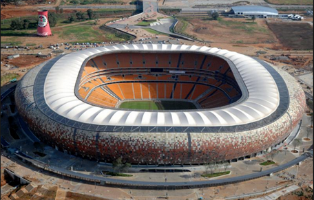 20 Biggest Football Stadium In The World And Their Capacities Soccer City Stadium Soccer City Soccer Stadium