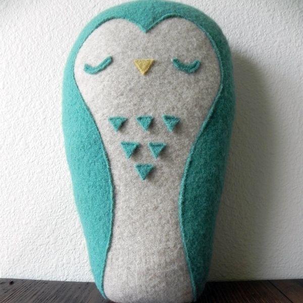 Owl - Three Seeds Shop | felt toys | Pinterest | Spielzeug nähen ...
