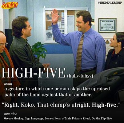 Seinfeld ribbon quotes