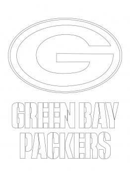 Green Bay Packers Coloring Pages Green Bay Packers Logo Coloring Page Green Bay Packers Logo Green Bay Packers Football Coloring Pages