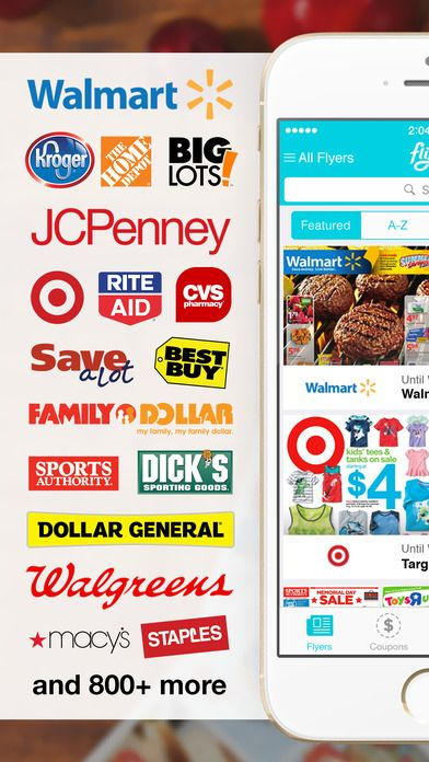 iPhone Screenshot 1 App, Weekly shopping, Coupon apps