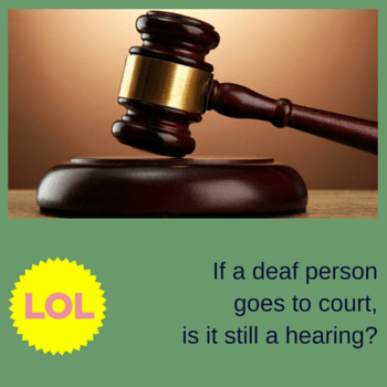 Joke: A judge enters the courtroom, strikes the gavel and says... | Quick access to the joke: http://www.jokesjournal.com/judges-announcement/