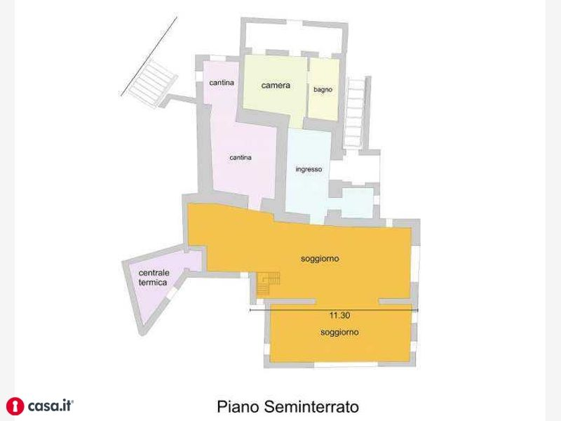 Sarteano, 53047-SARTEANO SI - planimetria
