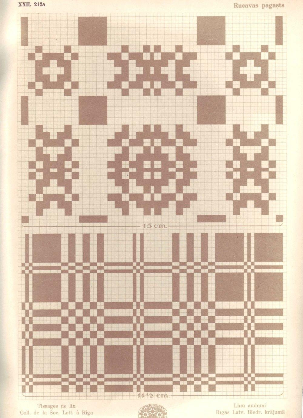 weaving draft.  XXII_212a_Rucava.JPG (1000×1381)