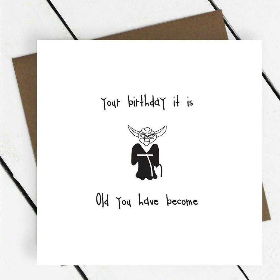 Starwars Birthday Card 30th Cards Personalized For Boyfriend