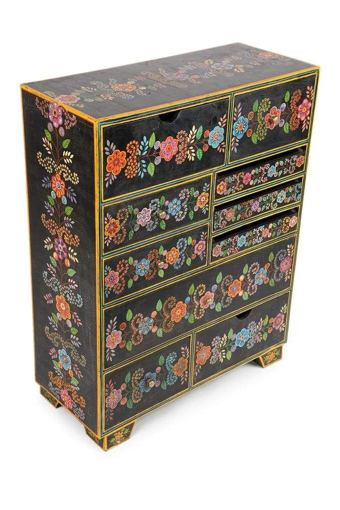 Kali Ten Drawer Cabinet   Mandala cushion, Painting on ...