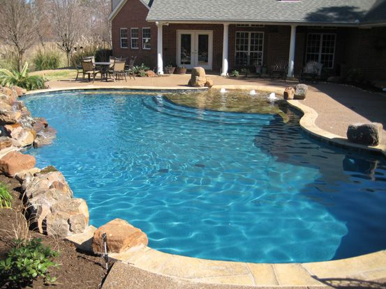 Custom Pool Designs Swimming Builders East Texas Longview Tyler Gunite Pools Inground And Spas