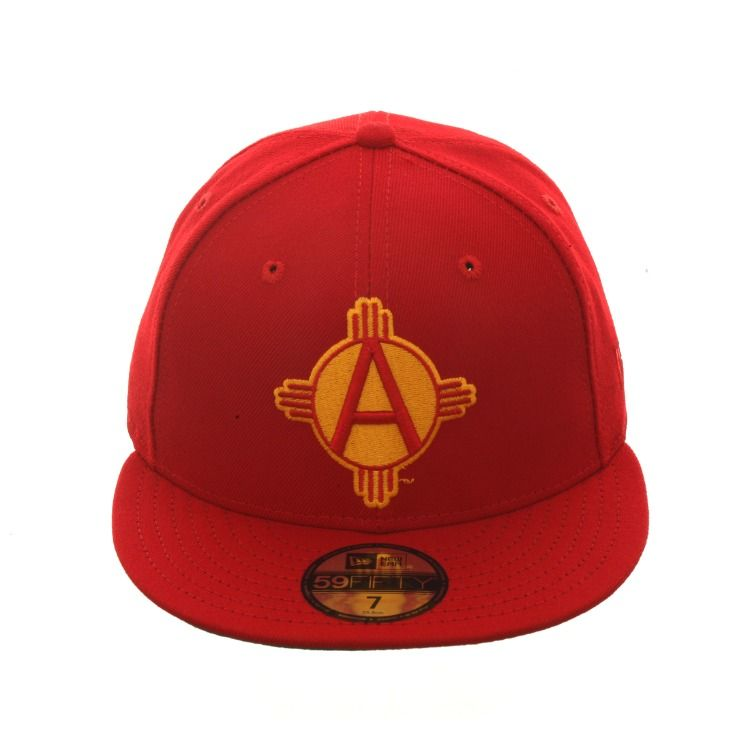 d2e8ecf66c1 Exclusive New Era 59Fifty Albuquerque Dukes Alternate Hat - Red in ...