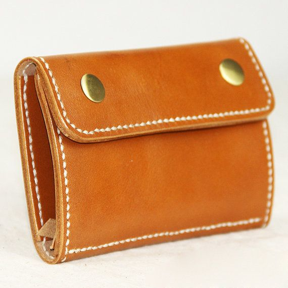 Leather Accessory Bag Leather Clutch Leather by SoBag1989 on Etsy, $42.10