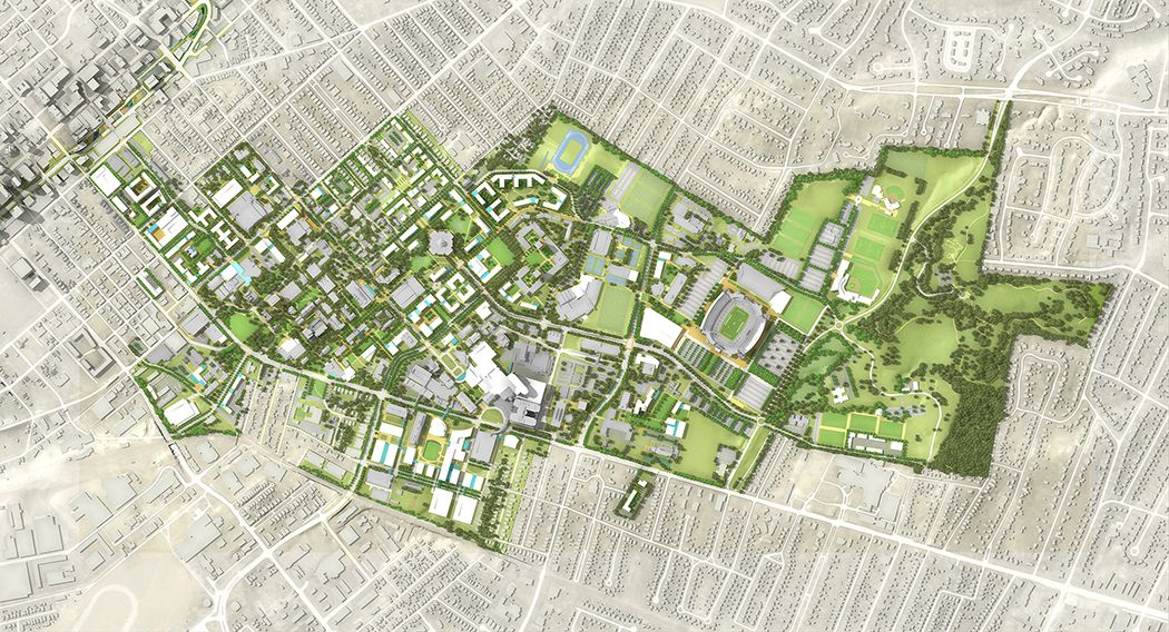 Pin by Mohamed Mahrous on University Masterplan (With