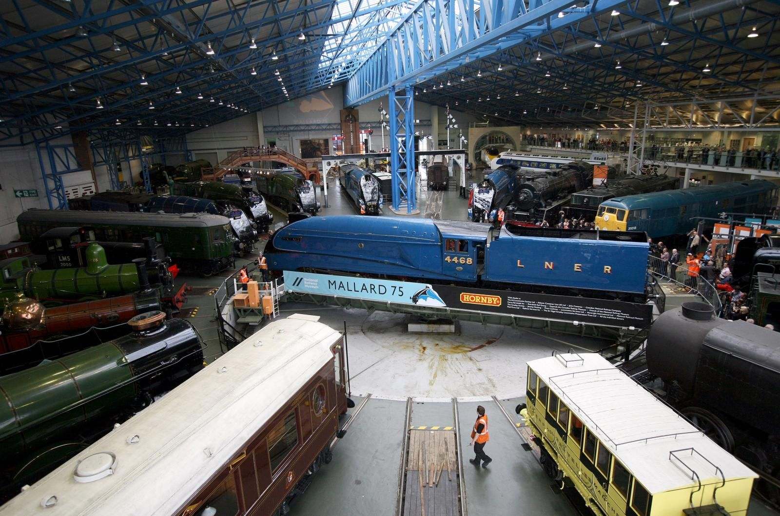 Amazing collection of trains