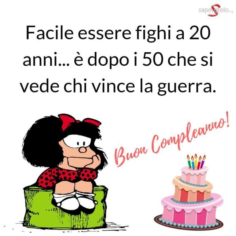 Auguri 50 Anni Da Scaricare E Condividere Gratis Messaggi Di Buon Compleanno Buon Compleanno Divertente Auguri Di Compleanno Divertenti