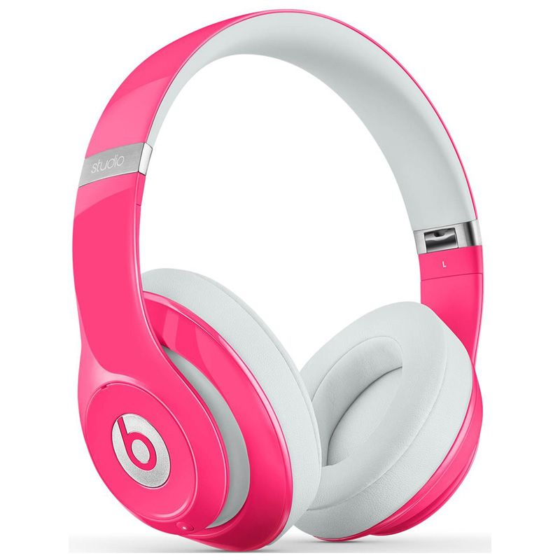Beats By Dr Dre Studio 2 0 Over The Ear Headphones Pink