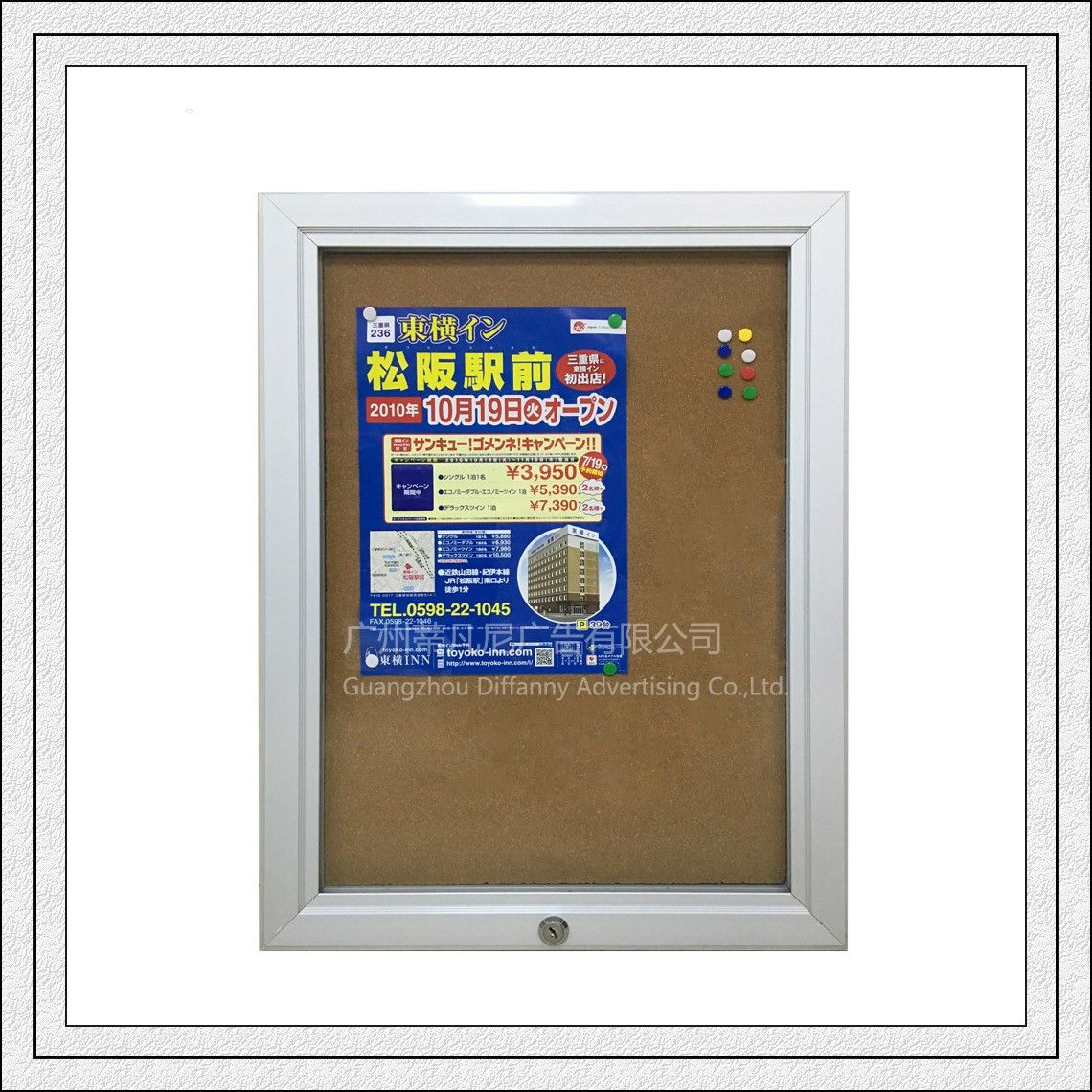 Wholesale Df010 Waterproof Aluminum Poster Frame Outside Poster
