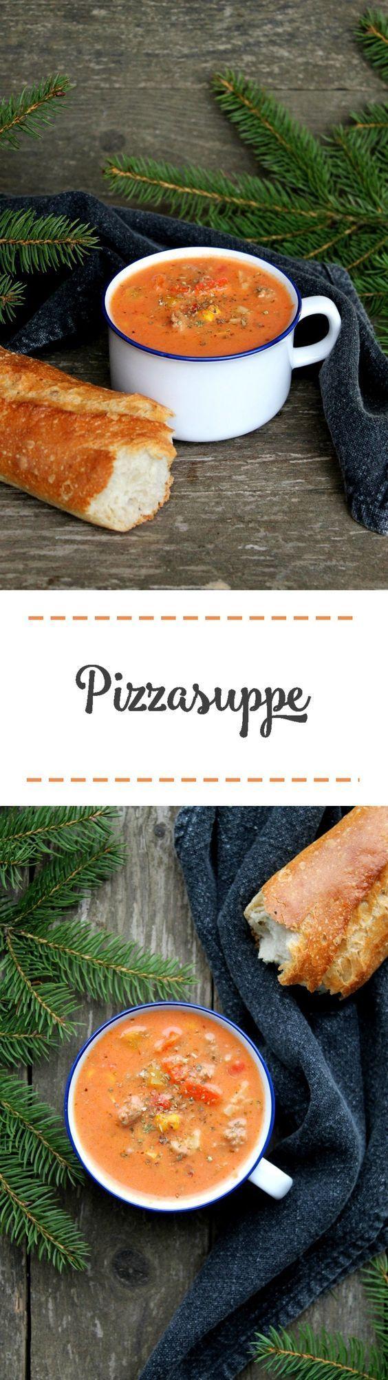 Pizzasuppe - Ein Klassiker • Schokokuss und Zuckerperle #foodporn