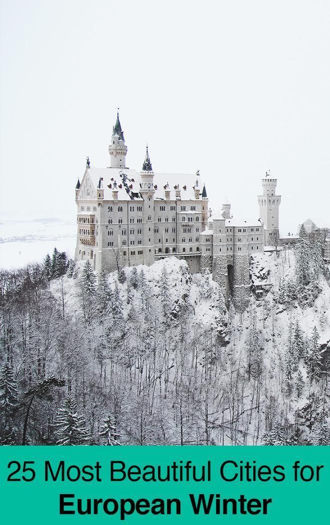 25 BEST European Cities To Visit In Winter 2017 2018 December March