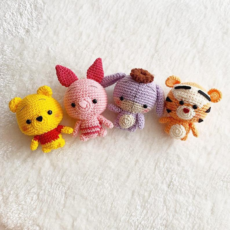 Crochet Pattern*Winnie the pooh and friends CROCHE