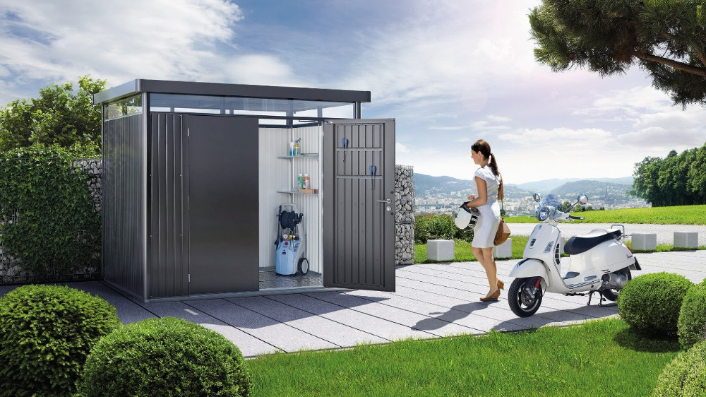Modernes Gartenhaus Metall in 2020 (With images)
