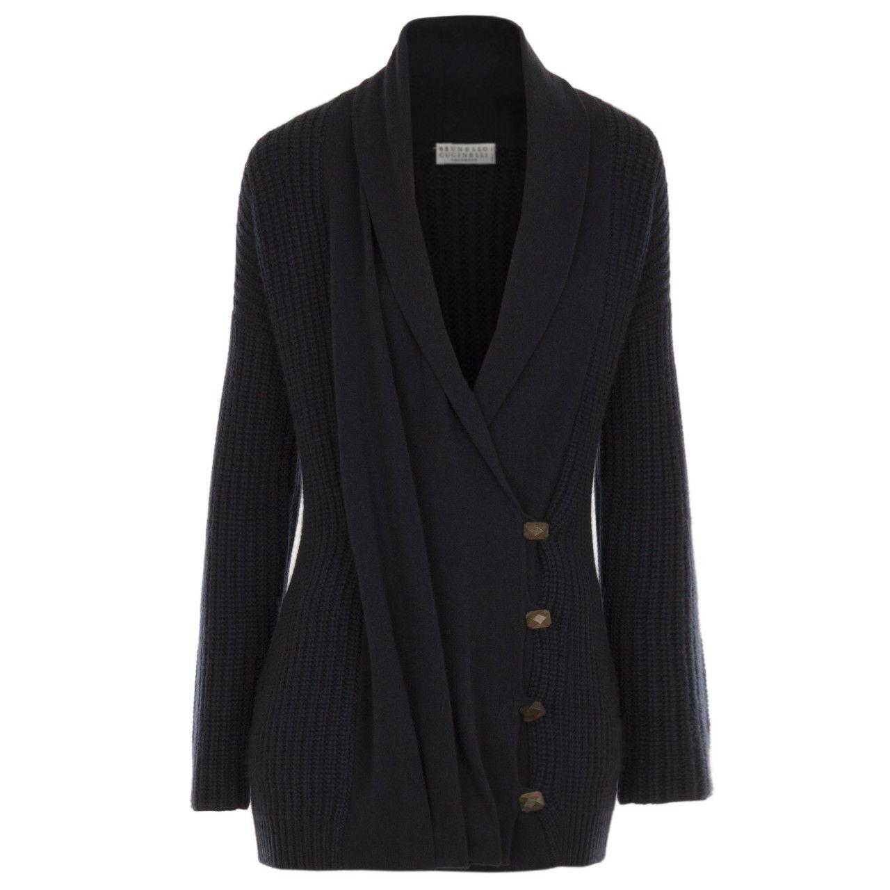 Hirshleifers - Brunello Cucinelli - Asymmetric Drape Front Cardigan (Navy), $2,460.00 (http://www.hirshleifers.com/ready-to-wear/tops/brunello-cucinelli-asymmetric-drape-front-cardigan-navy/)