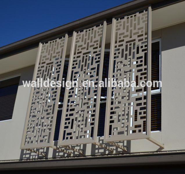 Brasilia Laser Cut Art Metal Fence & Decorative Laser Cut