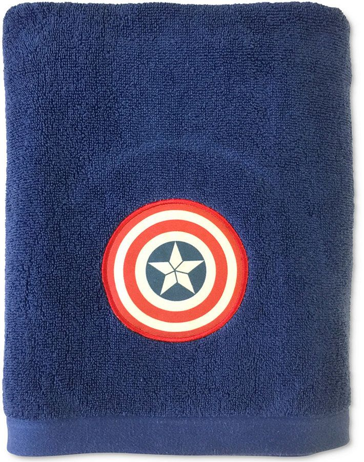 Jay Franco Marvel Captain America Sides Of War Bath Towel Bedding