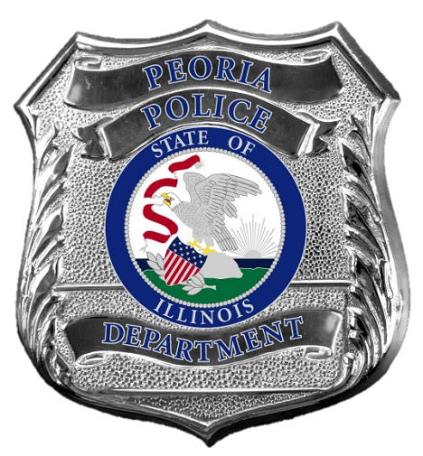 Peoria Pd Il Police Badge Police Law Enforcement