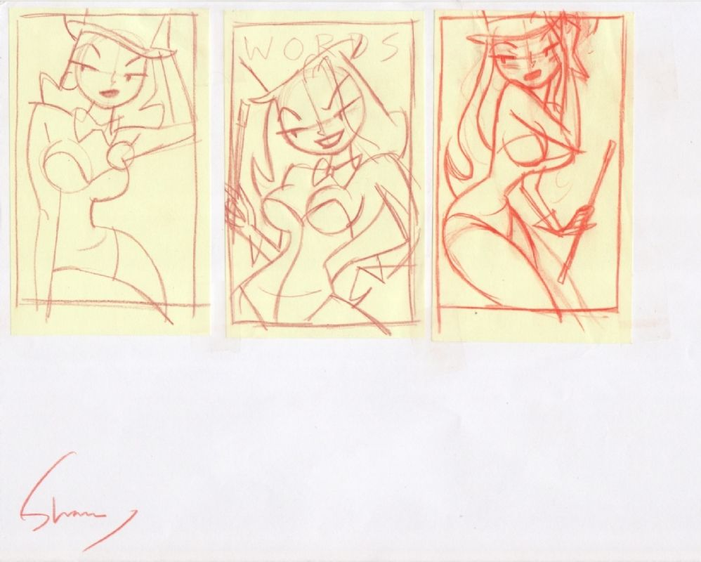 Shane Glines - Zatanna Post-it 1