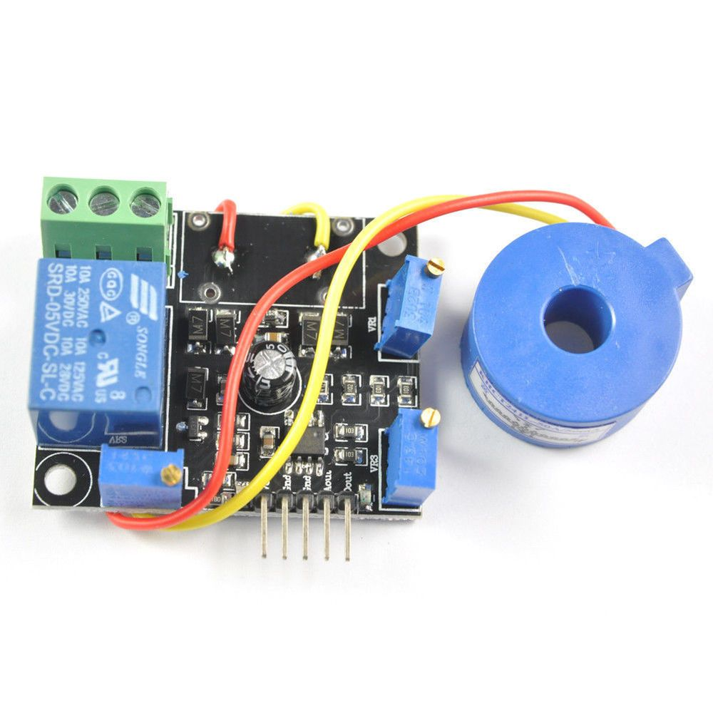 Current Detection Sensor 50a Ac Dc 5v Relay Module Switch Output With Arduino Circuit On To Schematic Rcmall