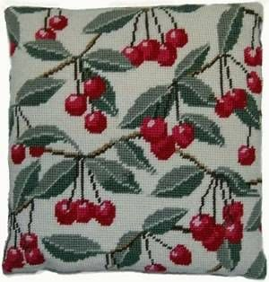 This wonderful tapestry kit makes a scented pillow for your home! Featuring a beautiful red berry and foliage design, this design is worked in tent st...  wonderful kit. really want!!!!  £37.