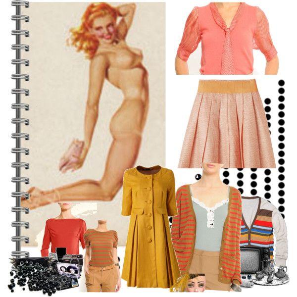 Peachy Keen by nicoleblairwear on Polyvore