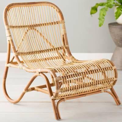 Kim Lounge Chair Rattan Chair Chair Papasan Chair