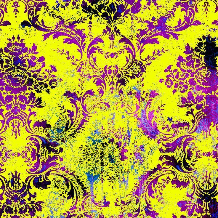 Neon Patterns Wallpaper