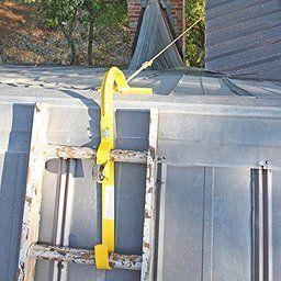 Roof Ridge Ladder Hook With Fixed Wheel Swivel Bar Ladder Hooks Ladder Roof Ladder