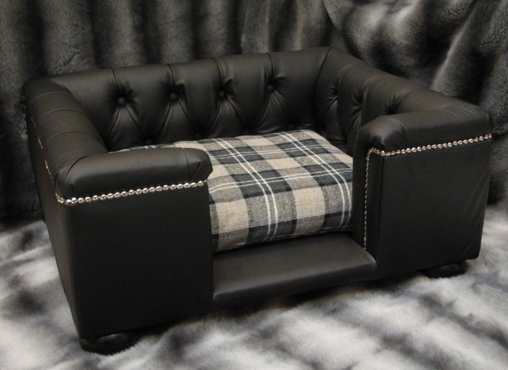 Real Leather Dog Sofas | Luxury Dog Beds | Animals | Dog Bed, Dog ...