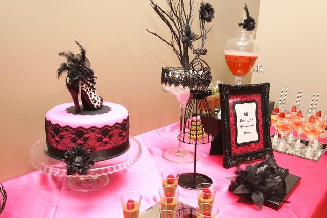 masquerade bridalwedding shower party ideas photo 2 of 15 catch my party