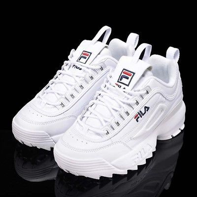 Blancofs1htz3071xPara Mujer Zapatos Moda Ii Disruptor 2 Fila CxoedrB