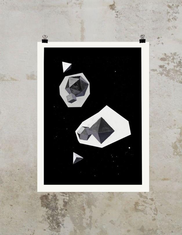 universum digitaldruck schwarz weiss pictures pinterest universum packen und wanddeko. Black Bedroom Furniture Sets. Home Design Ideas