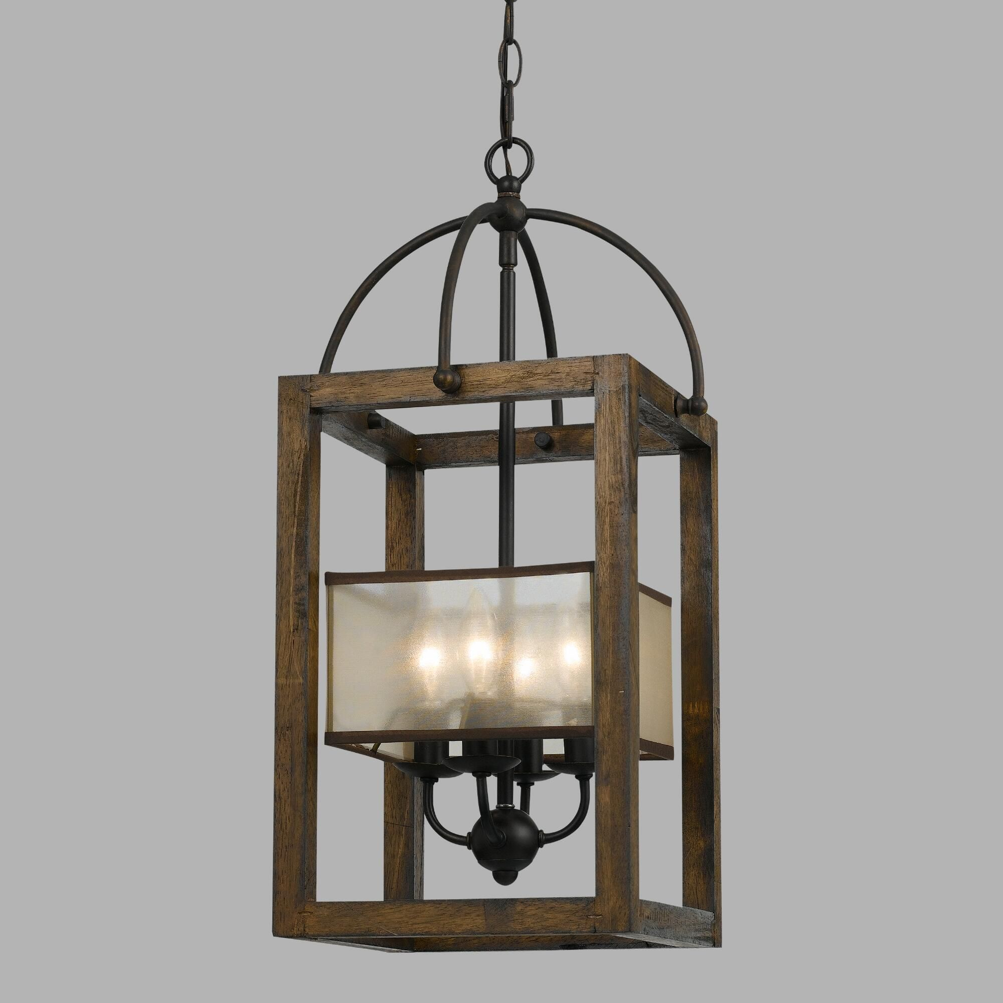We love the Southwestern vibe of our Mission Chandelier This four