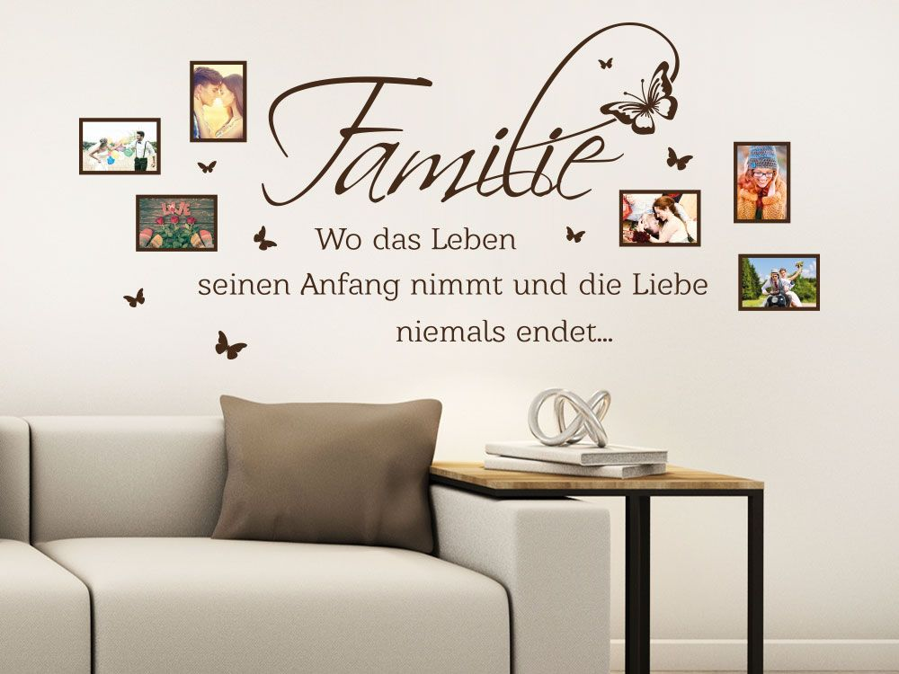 Familie Wo das Leben seinen Anfang nimmt und die Liebe niemals endet