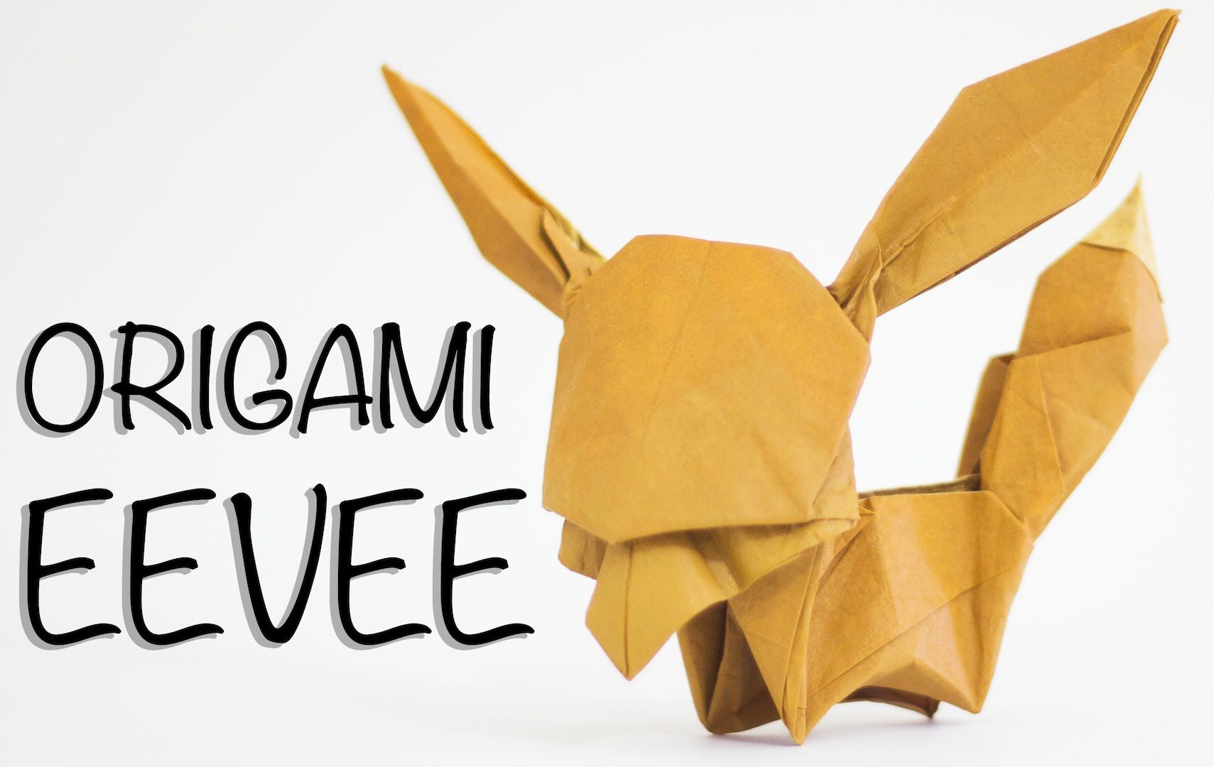 How To Make An Origami Eevee Paper Art Pinterest Ancient Dragon Diagram By